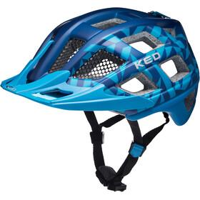 KED Crom - Casque de vélo - bleu